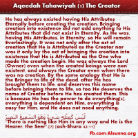 Aqeedah Tahawiyah English (1)